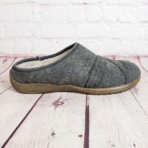LL Bean Wool Scuff Clog Slippers